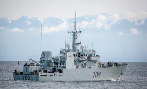 Un Proyecto pionero de tecnología digital que comienza en el HMCS Saskatoon