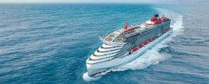 Virgin Voyages da la bienvenida al Scarlet Lady, el primero neutro en carbono