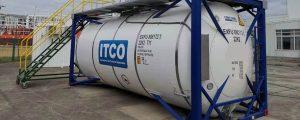 La flota mundial de contenedores cisterna alcanza 652.350 unidades
