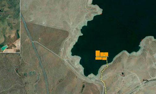 Acciona comienza la instalación de la primera planta fotovoltaica flotante conectada a la red en España