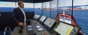 La universidad finlandesa SAMK recibe su nuevo simulador de buques autónomos