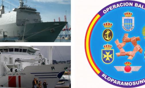 Los buques hospital españoles