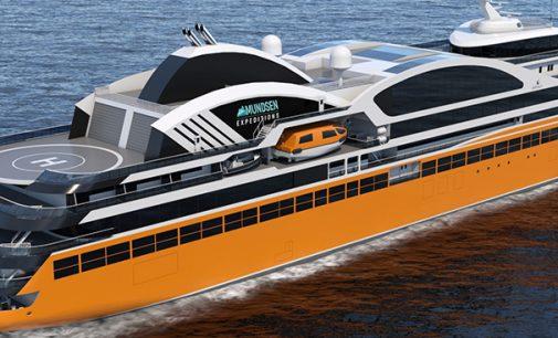 Wärtsilä presenta los diseños de cruceros de expedición para Amundsen Expeditions