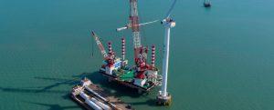 China instala su primer aerogenerador offshore de 8 MW de fabricación 100% nacional