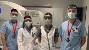 GHENOVA entrega las primeras pantallas de protección a la Clínica Universidad de Navarra
