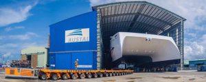 Austal Vietnam pone a flote el ferry-catamarán APT James para Trinidad y Tobago