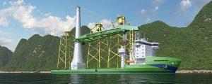 CDWE construirá el primer buque heavy lift Green Jade con bandera taiwanesa