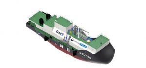 Corea del Sur comienza la construcción de un buque de suministro de GNL