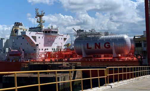 El puerto de Sines lleva a cabo sus primeras operaciones de bunkering de GNL