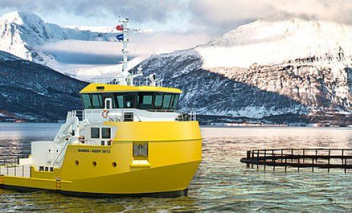 Damen presenta una nueva embarcación para el sector de la acuicultura