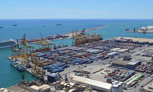El tráfico portuario español desciende un 4,7% en el primer trimestre del año