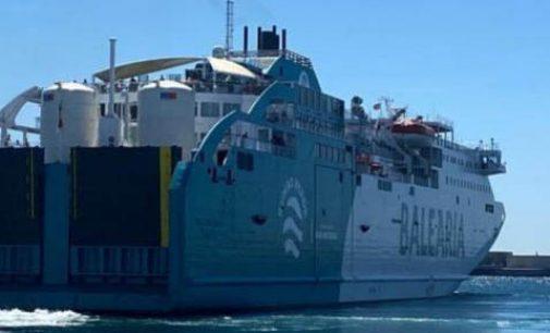 Baleària realiza el primer bunkering de gas natural al ferry Bahama Mama en Algeciras