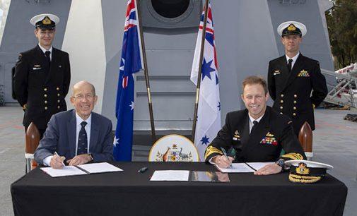 Navantia gestionará, mediante un Acuerdo Estratégico con Australia, el sostenimiento de las unidades navales