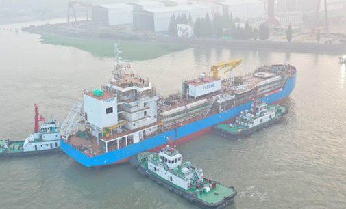 Keppel entrega el primer buque de abastecimiento de GNL de Singapur