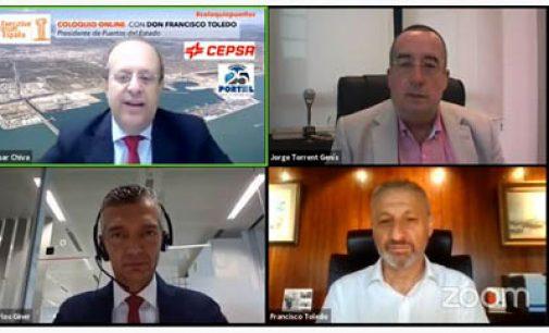 """El presidente de Puertos del Estado incide en la importancia del Marco Estratégico para consolidar """"puertos modernos, inteligentes y sostenibles"""""""