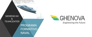 Ghenova pone en marcha el programa formativo naval Siemens NX y Team Center