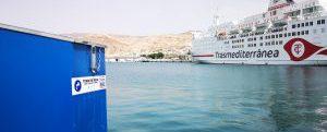 El puerto de Almería preparado para suministrar GNL a ferries