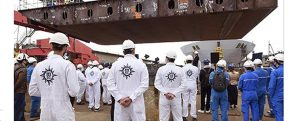 Puesta de quilla del crucero MSC World Europa