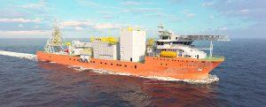 Damen entregará el buque de extracción de diamantes a Debmarine Namibia en 2022