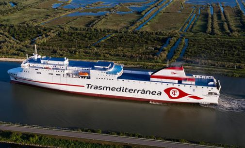 Naviera Armas Trasmediterránea estrenará el ferry Ciudad de Valencia en la línea Cádiz-Canarias