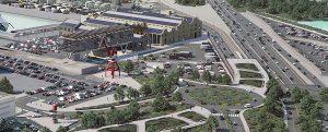Baleària proyecta en València una terminal inteligente y autosuficiente con energía renovable