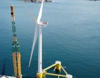 El primer parque eólico flotante de Europa continental ya está totalmente operativo