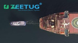 Entregado el primer remolcador completamente eléctrico a Gisas Shipbuilding, tres más en camino