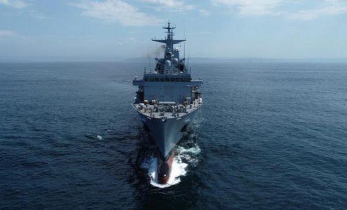 Navantia Australia exhibe su «Supply» con nuevas imágenes de sus pruebas de mar y hace balance de la colaboración España-Australia