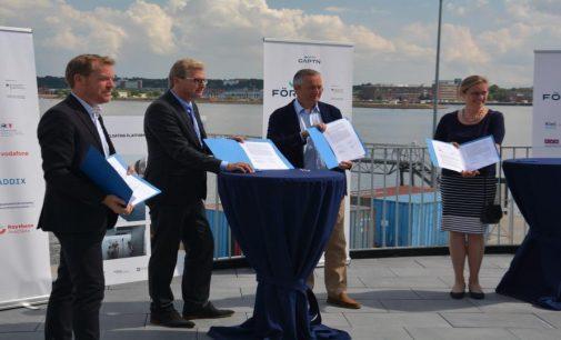 El Puerto de Kiel avanza en su proyecto de implementación de 5G para la navegación autónoma de ferries