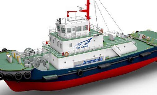 Japón trabaja en su remolcador alimentado con amoniaco