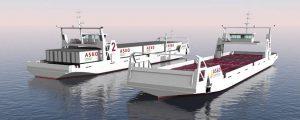 Vídeo de los nuevos ro-ro autónomos de la noruega Asko Maritime