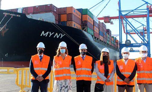 Hapag Lloyd elige Málaga como puerto de escala en la línea regular del servicio Mediterranean Gulf Express