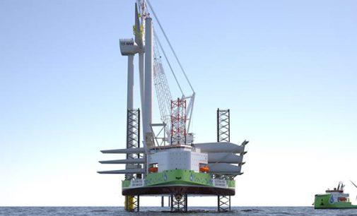 La instalación con cero emisiones de aerogeneradores marinos es ya una realidad
