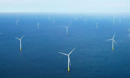 Energía eólica marina para producir hidrógeno renovable a gran escala en la producción de amoniaco
