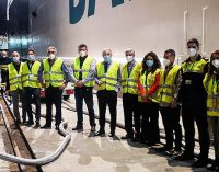 Baleària realiza el primer bunkering de gas natural licuado que se lleva a cabo en el Puerto de Almería