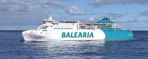 Baleària inicia la remotorización del ferry Martín i Soler para que pueda navegar a gas natural