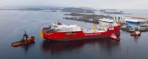 Al detalle el nuevo buque para el tendido de cables Nexans Aurora