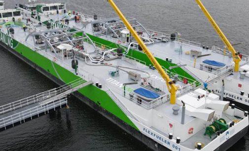 Entregada la barcaza de abastecimiento de combustible de GNL FlexFueler002