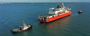 El nuevo rompehielos australiano, el RSV Nuyina, comienza sus pruebas de mar