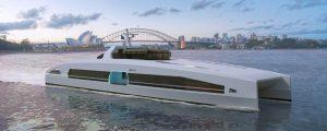 Austal presenta su nueva serie de ferries Volta de alta velocidad eléctricos