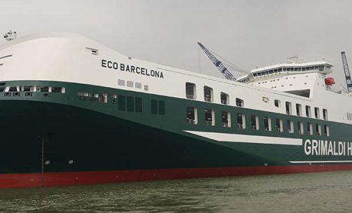 Grimaldi recibe el Eco Barcelona