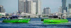 Miami estrena nuevas embarcaciones de lucha contra incendios