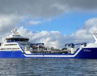 Ro Vision, el buque de transporte de pescado vivo ganador del barco del año en Noruega