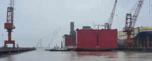 Flotadura del heavy lift Alfa Lift
