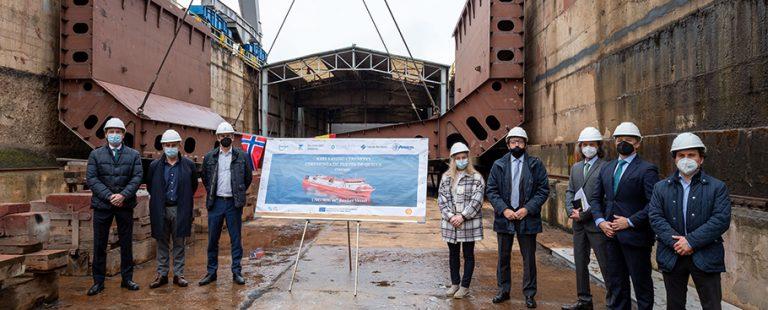 puesta_de_quilla_primer_buque_de_suministro_construido_en_España