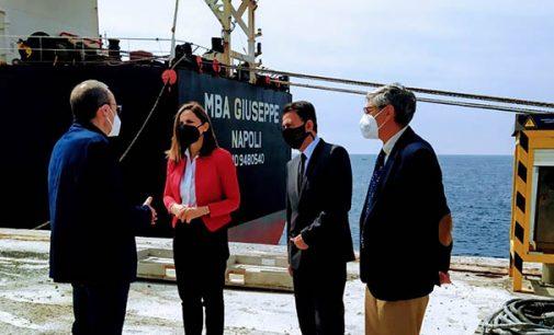 La ruta marítima Almería-Montreal se sitúa como eje estratégico del comercio internacional