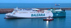 MITMA realiza con éxito el simulacro de incendio de un ferry propulsado a GNL