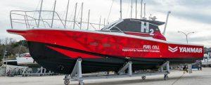 La japonesa Yanmar realiza pruebas reales de su pila de combustible para embarcaciones