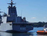 Navantia y Navantia Australia celebran la puesta en servicio del AOR Supply