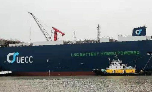 El transporte marítimo de corta distancia europeo contará pronto con un nuevo PCTC híbrido a GNL y eléctrico